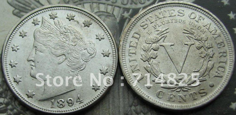 1894 Liberty Head V Nikel